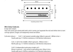 Warman Guitars G-rail Hybrid pickup – Chris Franklyn on